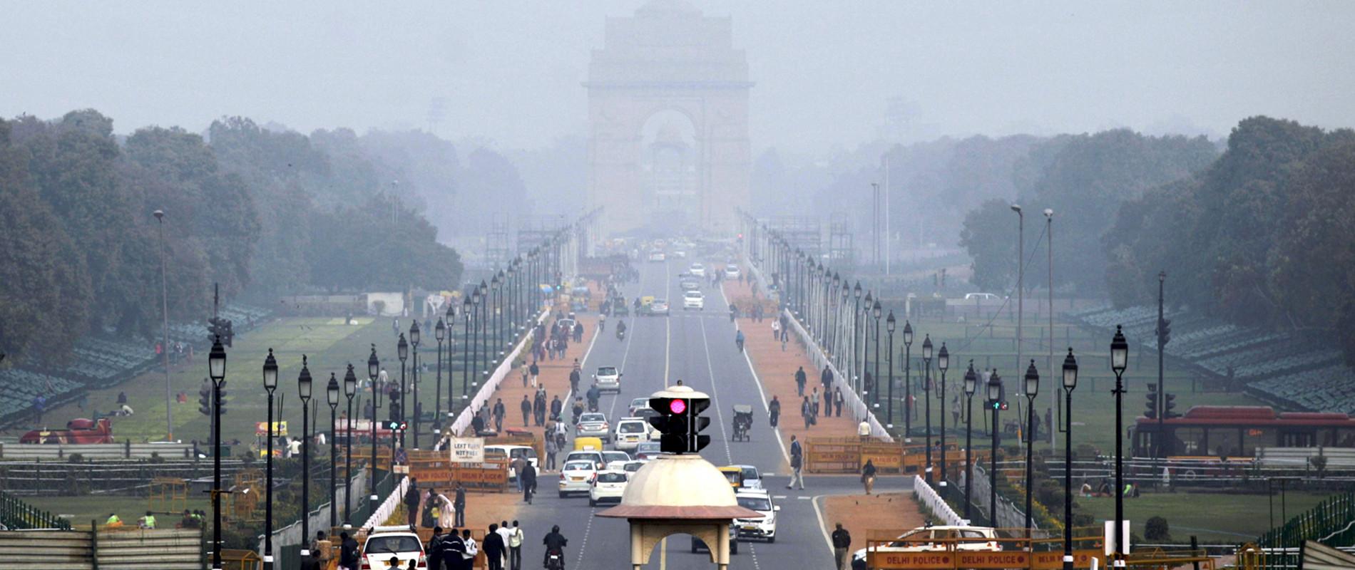 L'Inde suffoque dans un nuage de gaz polluants