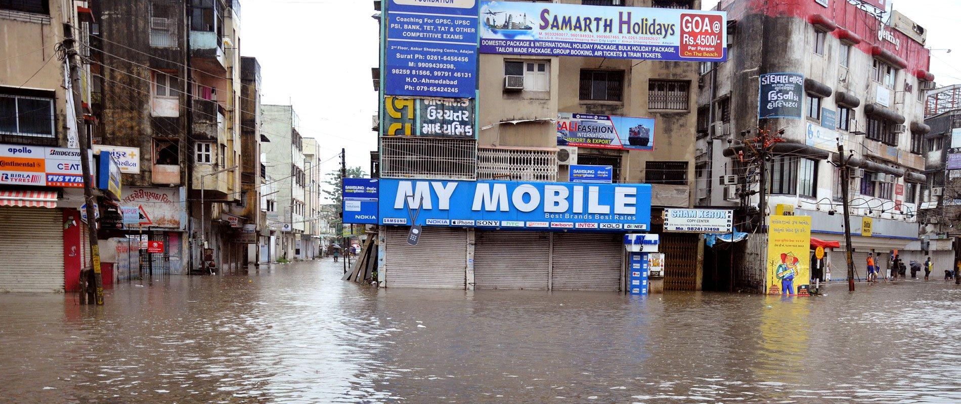 La ville indienne de Surat
